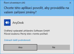 AnyDesk - návod